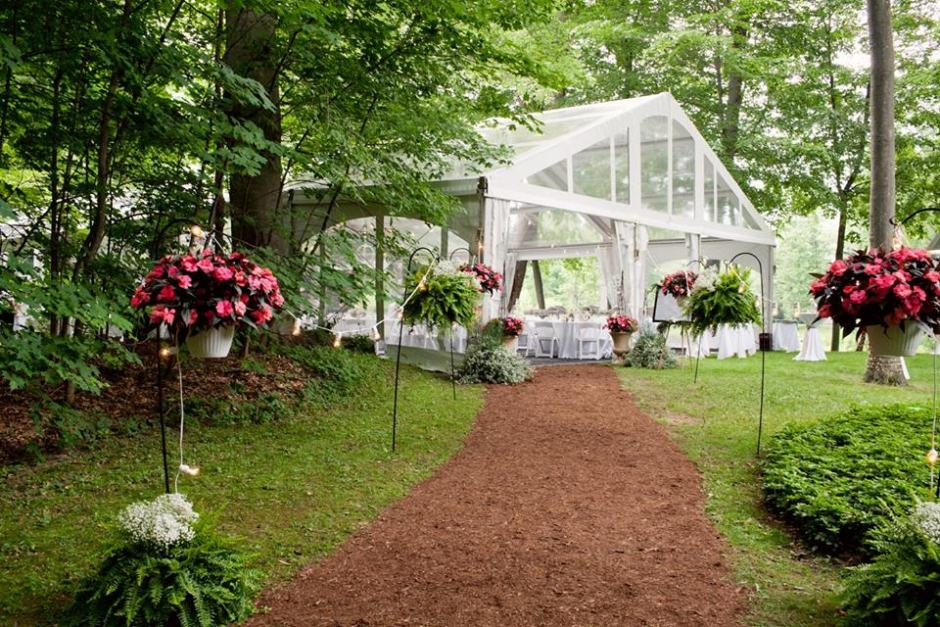 Parties Wedding Tent Rental Saginaw Rental City Full Service
